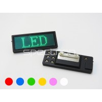 LED name badge from £5.12