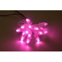 LED-Chain Pink